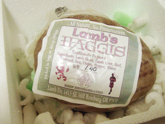 Haggis from Oatmeal Savage in Roseburg, Oregon