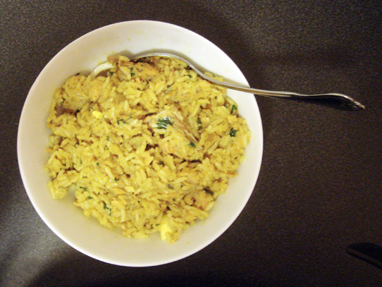 Kedgeree in a Bowl